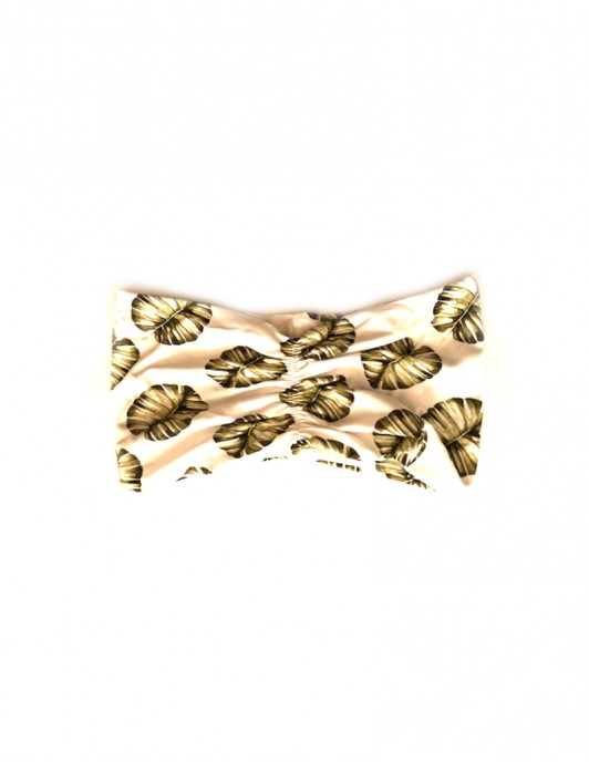 MONSTERA PRINT HEADBAND