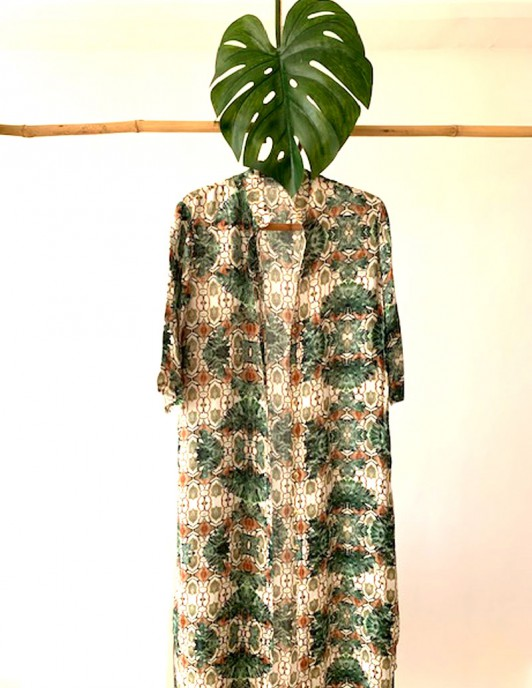 SNAKE JUNGLE LONG SHIRT