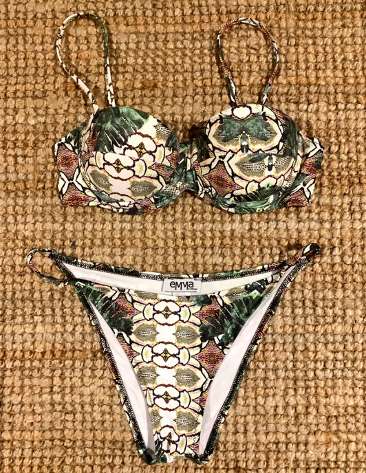 SNAKE JUNGLE CUP BIKINI