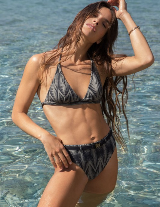 TRIBAL LOVE TRIANGLE BIKINI