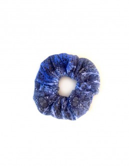 BLUE OCEAN SCRUNCHIE