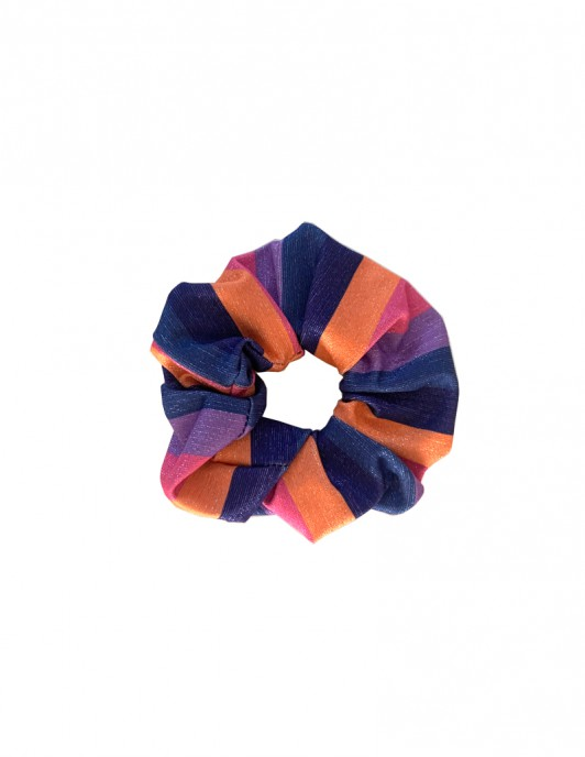 LUREX CANDY SCRUNCHIE