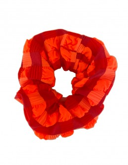 NEON ORANGE SCRUNCHIE