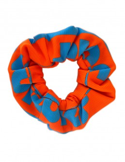 ORANGE SURF SCRUNCHIE