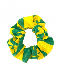 YELLOW SURF SCRUNCHIE